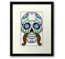 Zombie / Zombies Flower Face Framed Print
