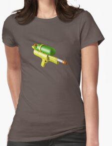 Water Gun Womens Fitted T-Shirt