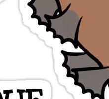 DUCK-BILLED PLATYPUS - SO UNIQUE  Sticker