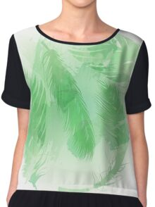 In the wind - Watercolour Chiffon Top