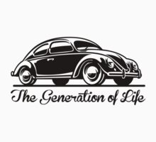 Beetle Car - Generation of Life One Piece - Short Sleeve