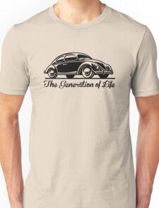 Beetle Car - Generation of Life Unisex T-Shirt