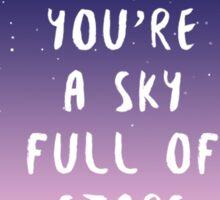 Sky full of stars Sticker