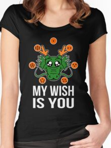 My wish Women's Fitted Scoop T-Shirt