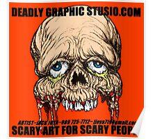 DEADLY GRAPHIS STUDIO.COM   EXPO TOUR SHIRT Poster