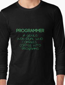 Programmer - genius Long Sleeve T-Shirt