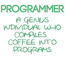 Programmer - genius Photographic Print