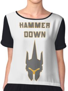 Hammer DOWN! Chiffon Top