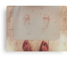 Bloodprints Canvas Print