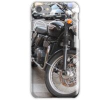 A Classic/Vintage Looking Motorcycle iPhone Case/Skin