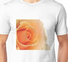 Gorgeous Peach Rose Unisex T-Shirt