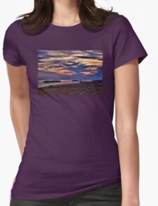 Morning at the Beach - Erie, PA Womens Fitted T-Shirt