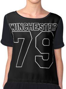 Dean Winchester (Jersey) Chiffon Top