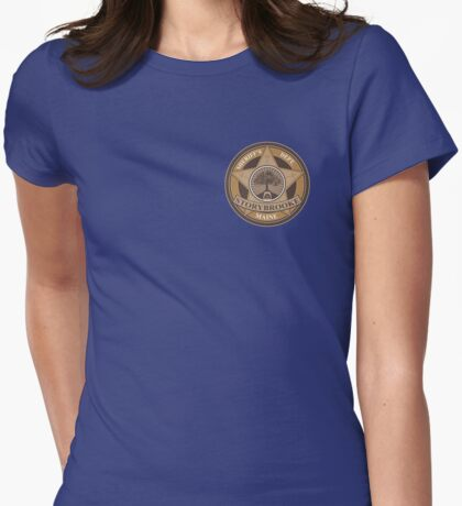 Once Upon a Time - Storybrooke Sheriff's Dept. Womens Fitted T-Shirt