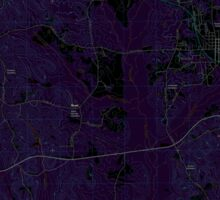 USGS TOPO Map Alabama AL Gordo 20110915 TM Inverted Sticker