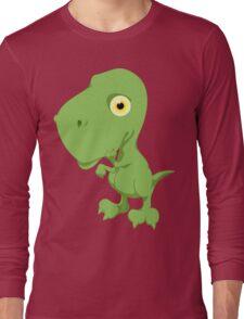 Little T-Rex Long Sleeve T-Shirt