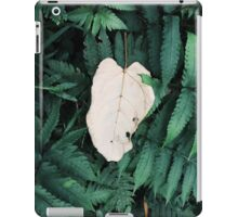 White Leave  iPad Case/Skin
