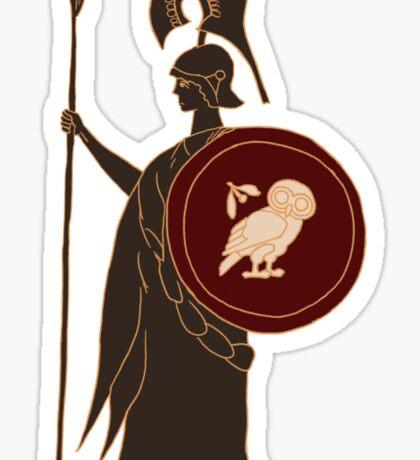 Athena - God of Wisdom and Strategy Sticker