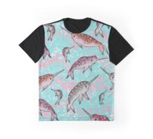 Neat Narwhal Graphic T-Shirt