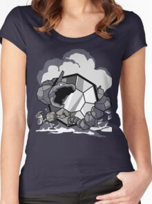 Gym Leader: Brock  Women's Fitted Scoop T-Shirt