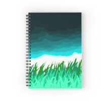 grasslands Spiral Notebook