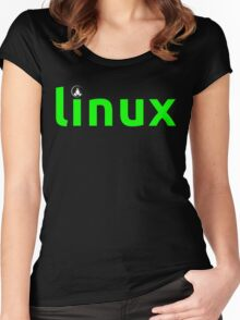 Linux Shirt - Linux T-Shirt Women's Fitted Scoop T-Shirt