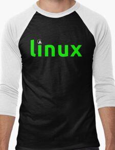 Linux Shirt - Linux T-Shirt Men's Baseball ¾ T-Shirt