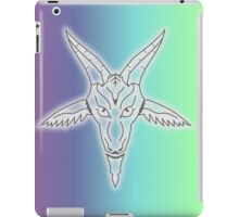Rainbow Satan iPad Case/Skin