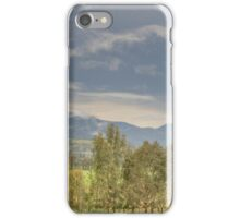 Clouds in the Mountains iPhone Case/Skin