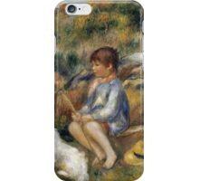 Renoir Auguste - Young Boy By A Brook iPhone Case/Skin