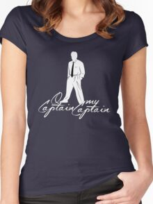 O Captain, My Captain Women's Fitted Scoop T-Shirt