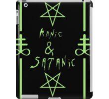 Manic & Satanic (Green) iPad Case/Skin
