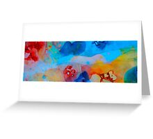 The Right Path - Colorful Abstract Art by Sharon Cummings Greeting Card