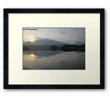 Snowdon from llyn Dywarchen Framed Print