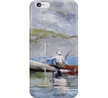 Winslow Homer - The Red Canoe iPhone Case/Skin