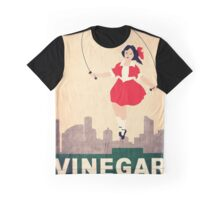 Skipping Girl Vinegar Graphic T-Shirt