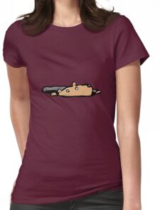 rising hamster Womens Fitted T-Shirt