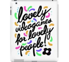 Hovergarden - Lovely Videogames for Lovely People iPad Case/Skin