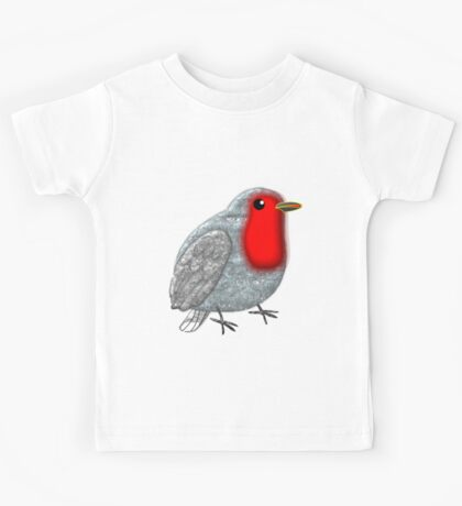 A Baby Robin T-shirt, etc. design Kids Tee