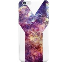 Y nebula stars pattern  iPhone Case/Skin