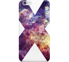 X nebula stars pattern  iPhone Case/Skin