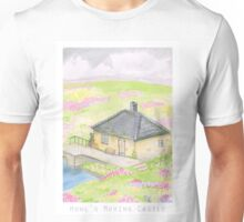 Howl's Moving Castle Background Design Unisex T-Shirt