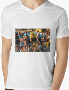 Tour de France 2013 Mens V-Neck T-Shirt
