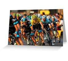 Tour de France 2013 Greeting Card