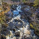 Rogie Falls by Dave Hare