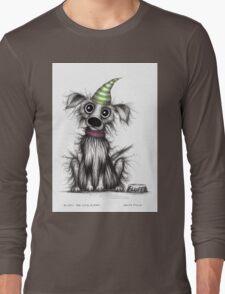 Fluffy the cute puppy Long Sleeve T-Shirt
