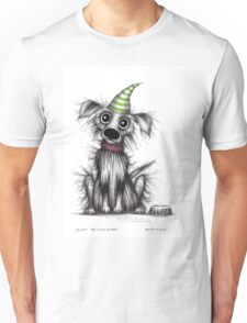 Fluffy the cute puppy Unisex T-Shirt