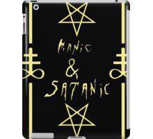 Manic & Satanic (Yellow) iPad Case/Skin