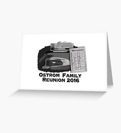 Ostrom Family Reunion Greeting Card