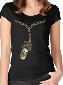 Goth Pendant Women's Fitted Scoop T-Shirt